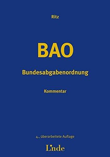 9783707319538: Bundesabgabenordnung (BAO). Kommentar (f. Österreich)