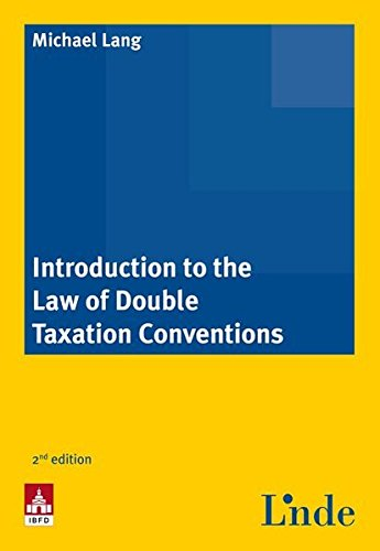 9783707321968: Introduction to the Law of Double Taxation Conventions