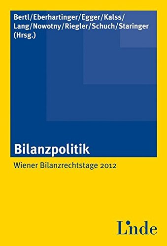 Bilanzpolitik (f. Österreich): Romuald Bertl