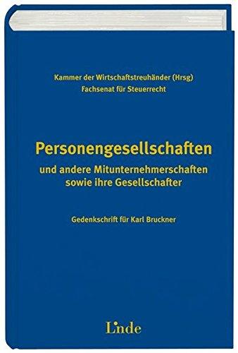 Personengesellschaften (f. Österreich)