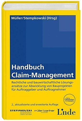 9783707323559: Handbuch Claim-Management (f. Östereich)