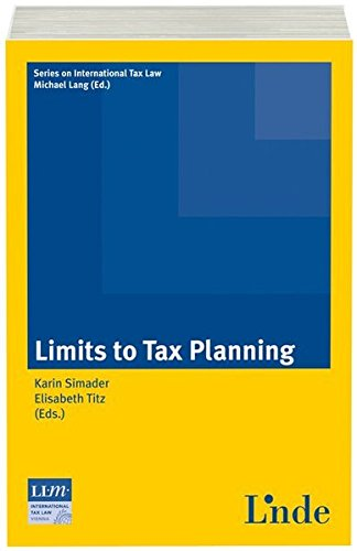 Limits to Tax Planning: Karin Simader
