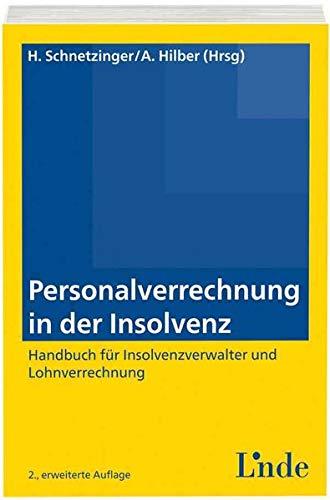 9783707324488: Personalverrechnung in der Insolvenz (f. Österreich)