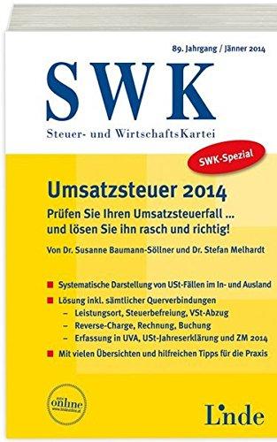 SWK-Spezial Umsatzsteuer 2014: Susanne Baumann-Söllner