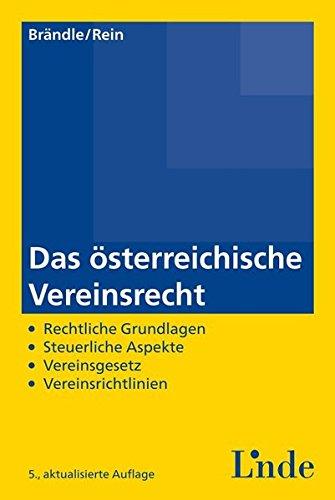 Das österreichische Vereinsrecht: Claus Br�ndle