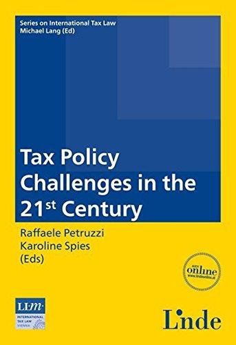 Tax Policy Challenges in the 21st Century: Raffaele Petruzzi