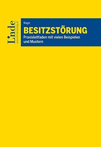 9783707331660: Besitzstörung (f. Österreich)