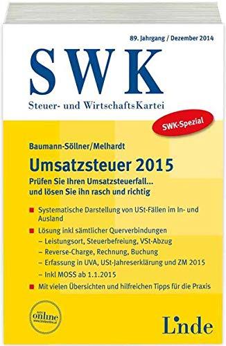 9783707331776: SWK-Spezial Umsatzsteuer 2015 (f. Österreich)