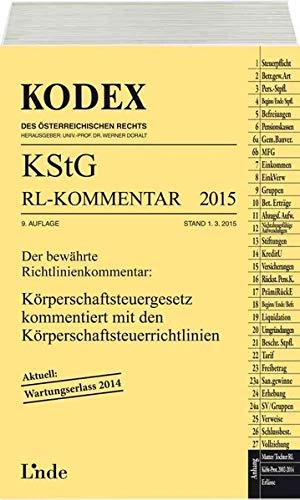 KODEX KStG Richtlinien-Kommentar 2015 (f. Österreich): Peter Humann