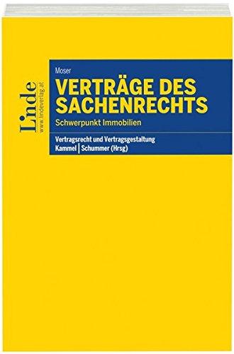 Verträge des Sachenrechts (f. Österreich): Julia Moser