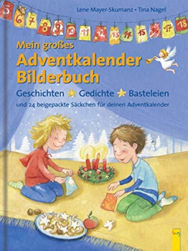 9783707405163: Mein gro�es Adventkalender-Bilderbuch: Geschichten, Gedichte, Basteleien