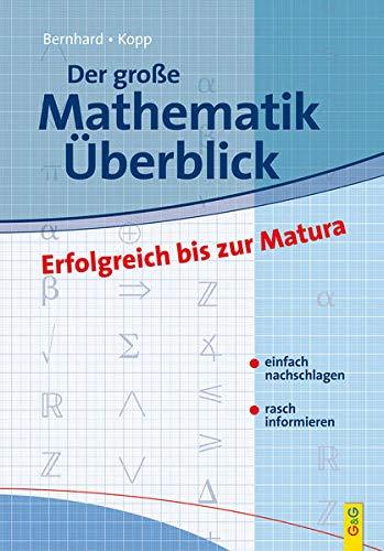 9783707408751: Der grosse Mathematik-�berblick: Erfolgreich bis zur Matura