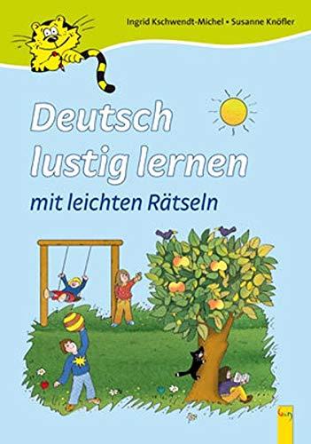 9783707411072: Deutsch lustig lernen mit leichten Ratseln: Deutsch als Zweitsprache