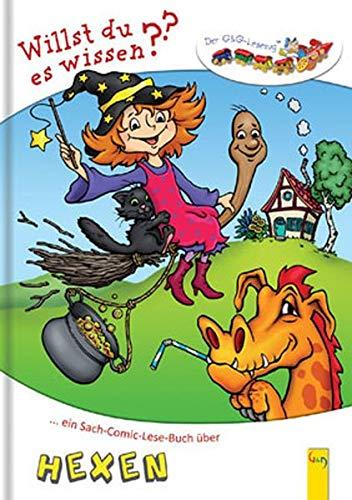 Ein Sach-Comic-Lese-Buch über Hexen: Dölling, Andrea