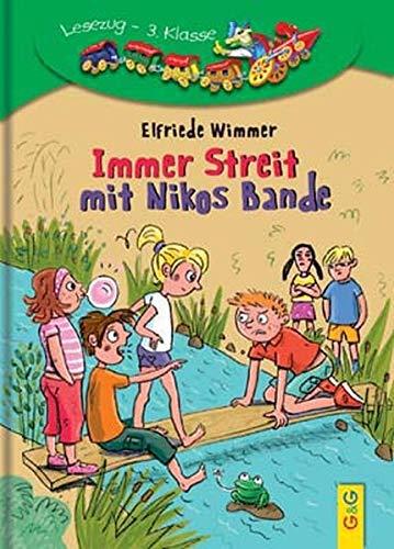 Immer Streit mit Nikos Bande: Lesezug 3. Klasse: Wimmer, Elfriede