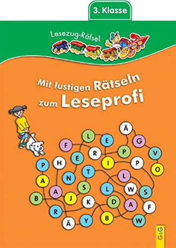 9783707416343: Lesezug Lese-Rätsel 3. Klasse: Mit lustigen Rätseln zum Leseprofi