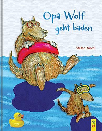 9783707418095: Opa Wolf geht baden