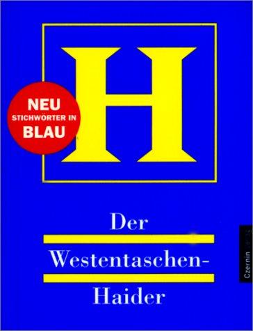9783707600438: Der Westentaschen- Haider.
