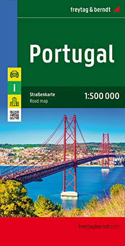 9783707900118: Portugal (Freytag & Berndt road map)