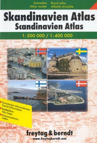 9783707900224: Atlas routiers : Scandinavie - Scandinavian Road Atlas (en anglais)