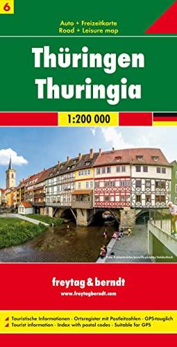 9783707900583 Sheet 6 Thuringia AbeBooks FreytagBerndt und