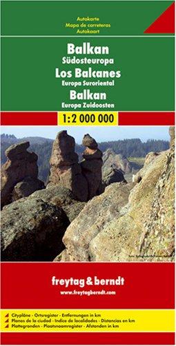 9783707900767: Balkans Road Map