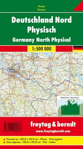 9783707900897: Germany North (+ Index): FBP.AK206