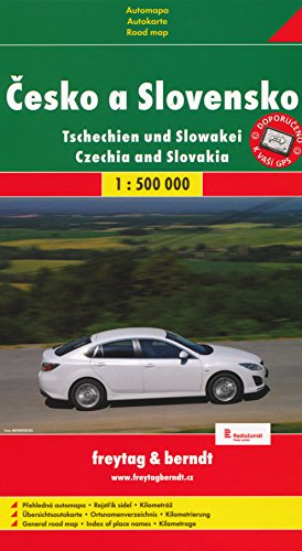 9783707901627: Czech Republic-Slovak Republic: Roads and Trains Pocket Atlas (Country Road & Touring)