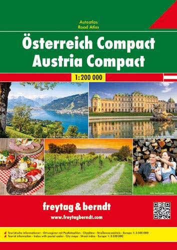 9783707901641: Austria Road Atlas