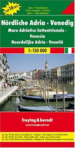 9783707901757: Northern Adriatic Sea, Italy (English, French, Italian and German Edition)