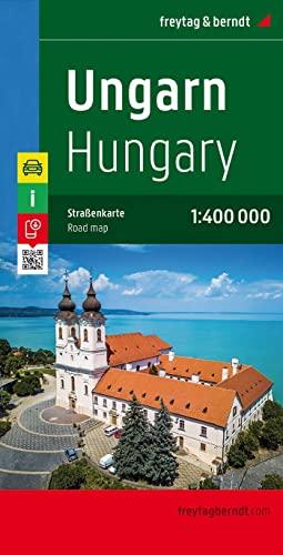 Ungarn, Autokarte 1:400.000: Citypläne, Touristische Informationen. Ortsregister mit Postleitzahlen (freytag & berndt Auto + Freizeitkarten) - Freytag-Berndt und Artaria KG