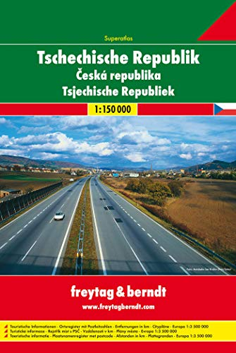 9783707902747: Czech Republic Atlas (English, French, Italian and German Edition)