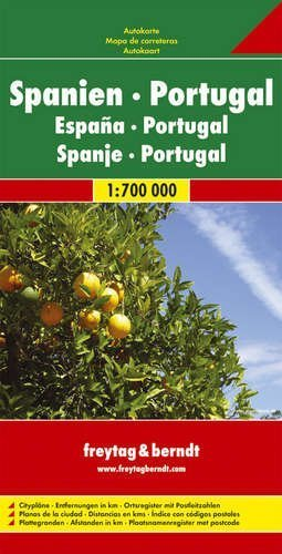 9783707902921: Spain and Portugal Road Map