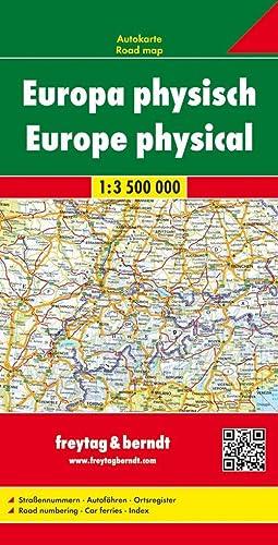 9783707903027: Europa fisica 1:3.500.000: Wegenkaart 1:3 500 000 (Auto karte)
