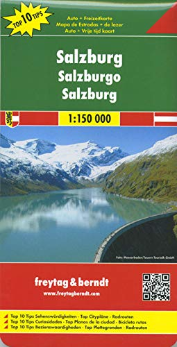 9783707903058: Salzburg (Road and Leisure Time Map)
