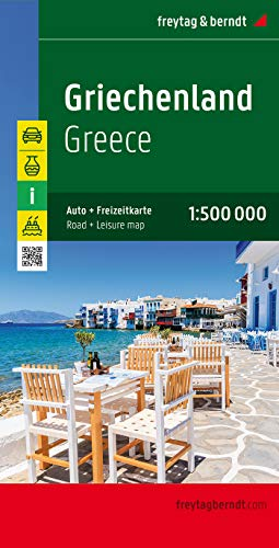 9783707903089: Greece (Road Maps)