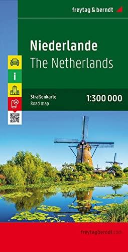 9783707903140: Paesi Bassi 1:300.000: Toeristische wegenkaart 1:300 000 (Auto karte)