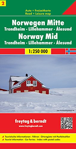 9783707903171: Carte routi�re : Norv�ge Centrale
