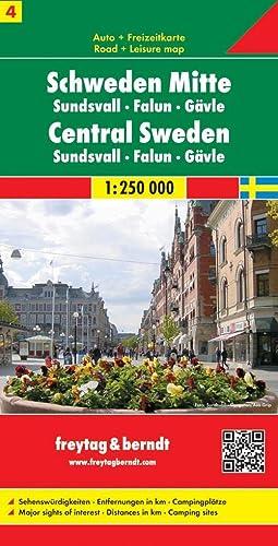 9783707903218: Suède centrale : 1/250 000