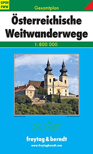 9783707903379: Austria Largas Distancias 1:800.000