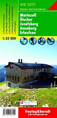 9783707903409: Mariazell, Ötscher, Josefsberg, Annaberg, Erlaufsee : 1/35 000