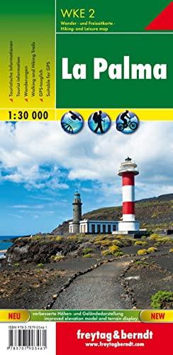 9783707903461: La Palma f&b r/v gps: Walking Map