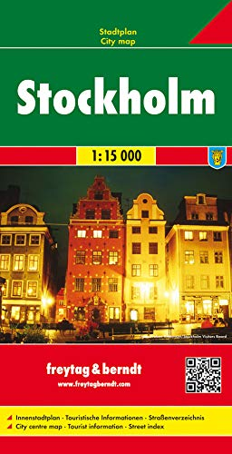 9783707903508: Stockholm (City Map) (English, Spanish, French, Italian and German Edition)