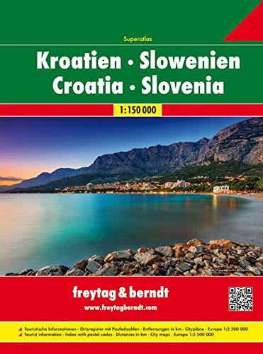 9783707904239: Map-Croatia/Slovenia Atlas SPI