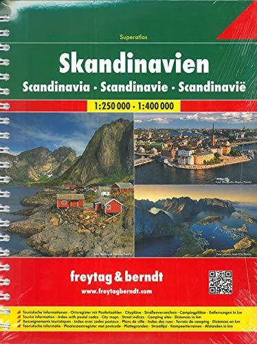 9783707904246: Skandinavien 1:250.000 1:400.000