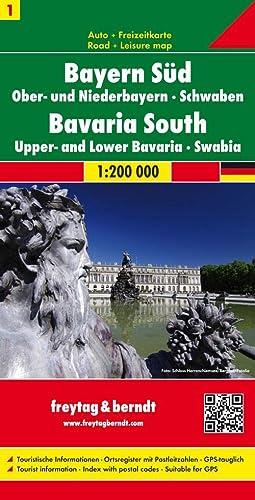 9783707904475: Sheet 1, Bavaria South/Central