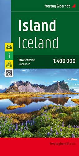 9783707904512: Islandia, mapa de carreteras. Escala 1:400.000. Freytag & Berndt. (Country Road & Touring)