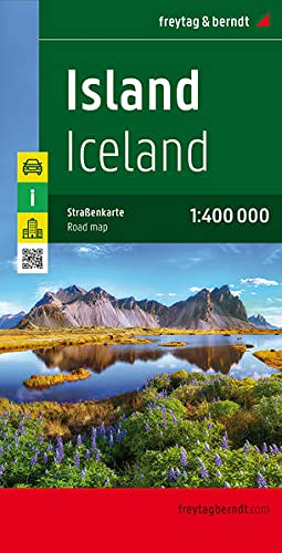 Iceland Road Map (Country Road & Touring): Freytag & Berndt