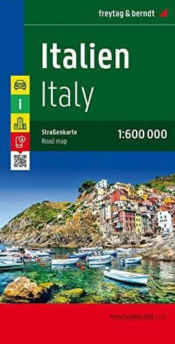 Italy Road Map 1:600 000 (Sheet map)