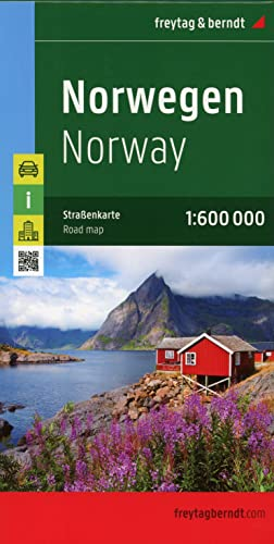 9783707904635: Norway 1:600K Road Map FB (English, French and German Edition)